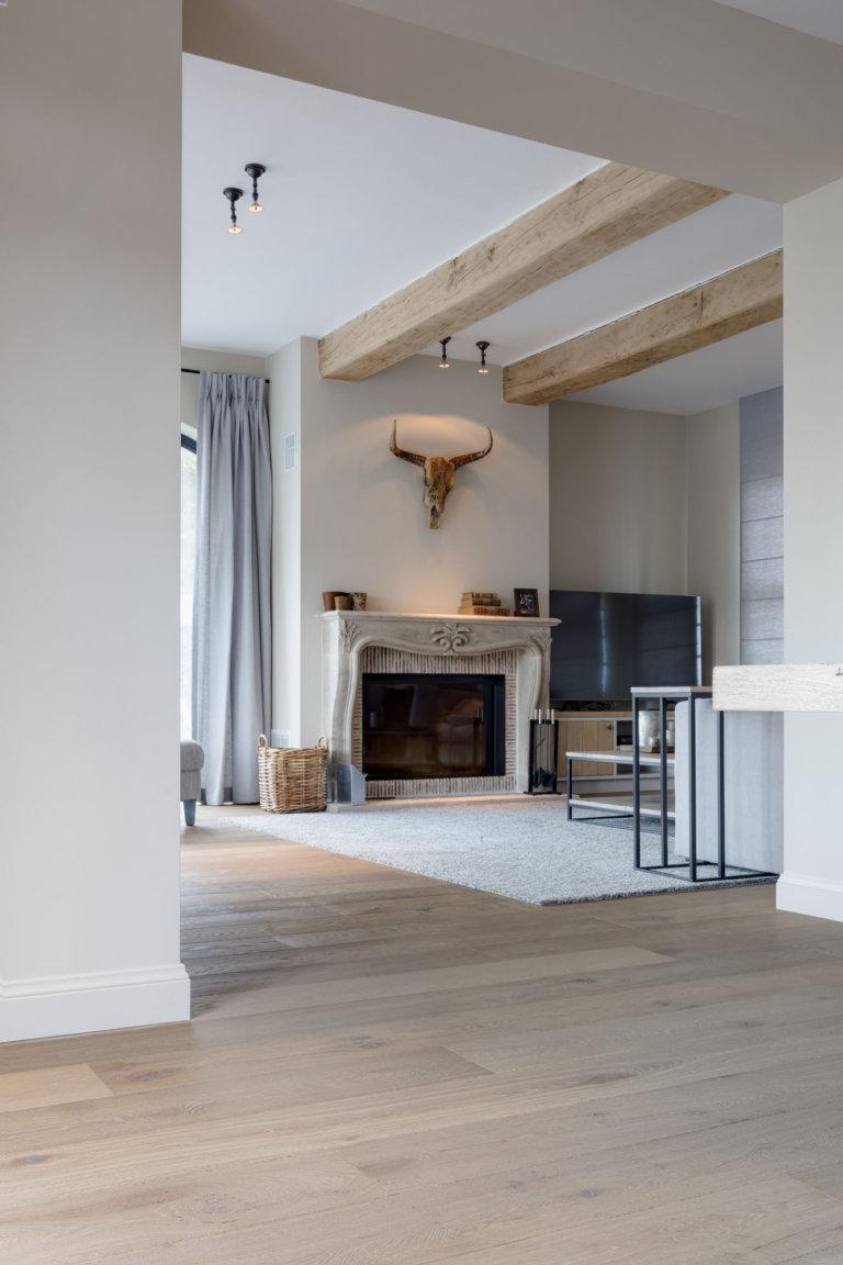 Eiken Parket In Prachtige Villa Regio Zoersel Nobel Flooring